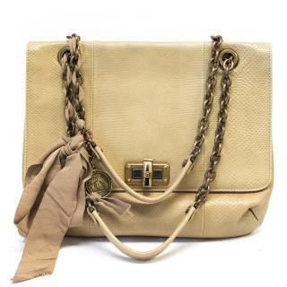 Lanvin Snake Skin Handbag