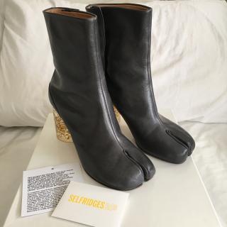 Margiela Tabi Boot Limited Edition Glitter Heel