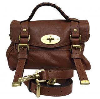 Mini Alexa Handbag in Buffalo Leather