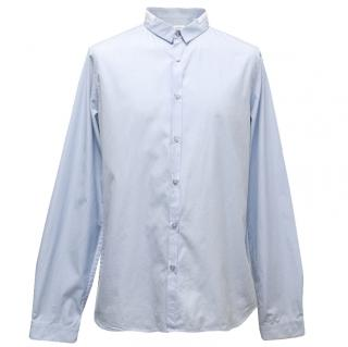 Jil Sander 42/16.5- Blue Cotton Dress Shirt