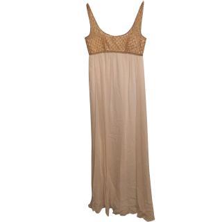 Marchesa Notte Empire Gown