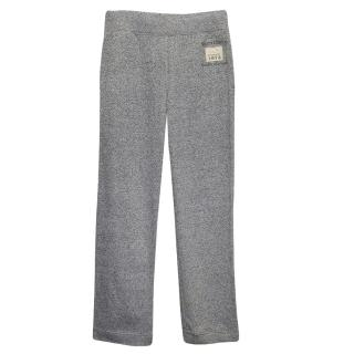 Roots Grey Cotton Blend Sweatpants
