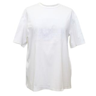 Alexander Wang White T-Shirt with Graphics