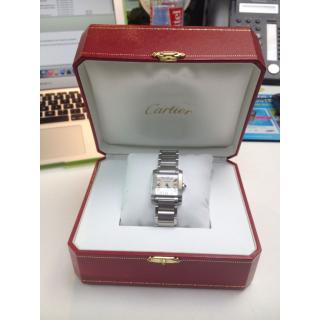 CARTIER  TANK FRAN�AISE   Mens Steel  Watch