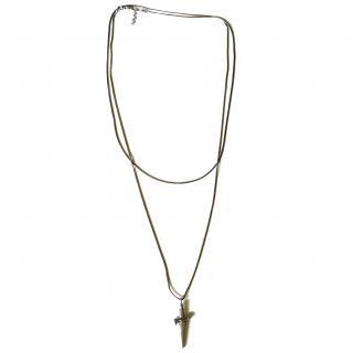 Cesare Paciotti sterling silver necklace