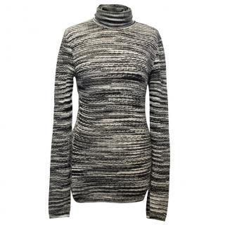 Missoni Black & White Turtleneck Sweater