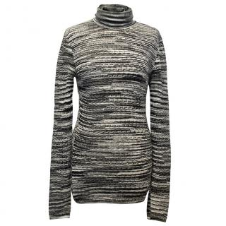 Missoni Black & White Turtleneck Sweater