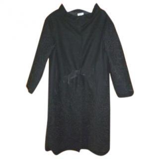 Alberta Ferretti Wool Dress Coat