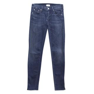 Mother 24- Looker Ankle Zip Jeans