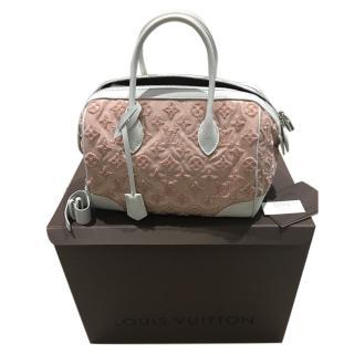 Louis Vuitton Limited Edition Rose Monogram Bouclettes Speedy Bag