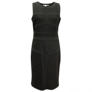Diane von Furstenberg Grey Sleeveless Dress