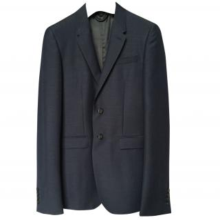 Burberry Slim Fit Linen-Wool-Mohair Jacket