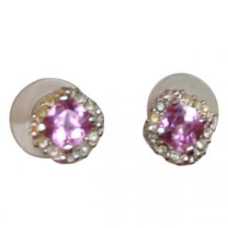 Nina Ricci for Avon Crystall Stud Earrings