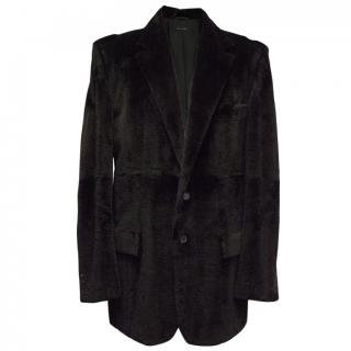 Gucci Black Fur Coat