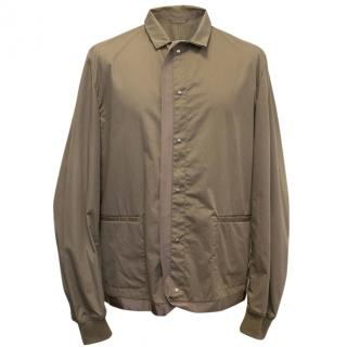 Lanvin Taupe Button Down Jacket