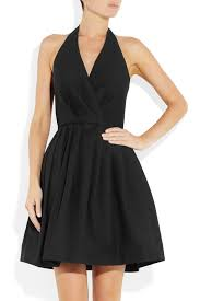 Halston Heritage black dress