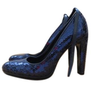 Vintage Miu Miu Sequinned Court Shoes