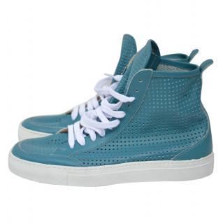 MM6 BY MAISON MARTIN MARGIELA Blue Sneakers