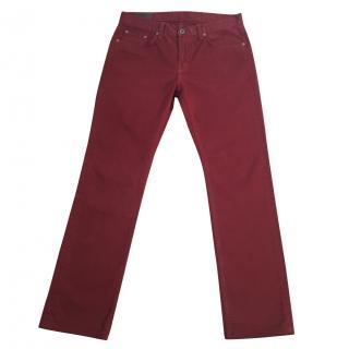 J. BRAND 'Kane' slim straight leg in Arroyo colour