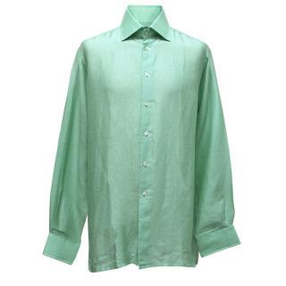 Richard James Green Linen Shirt