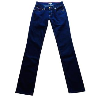 Tommy Hilfiger Dark Denim Slim Leg Jeans New