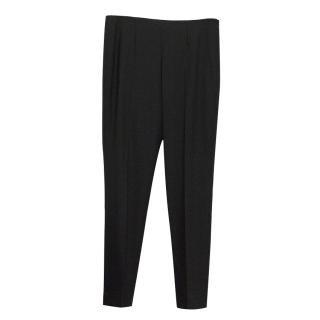 Theory Black Cigarette Trousers