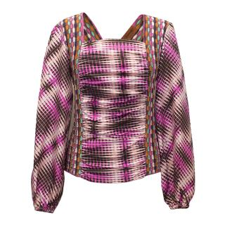 Missoni Pink Patterned Top