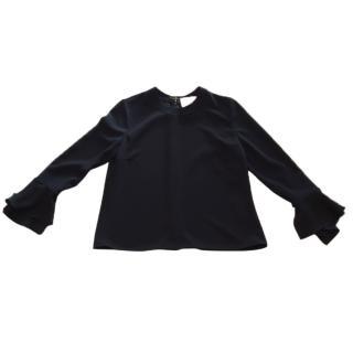 Roksanda Ilincic Black 'Myssen' blouse