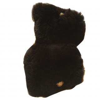 Rare Chanel Rabbit Fur Cuffs