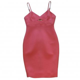 Victoria Beckham pink cocktail dress
