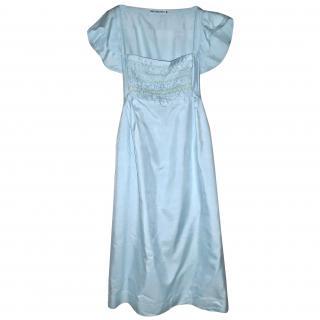 Americanretro silk dress
