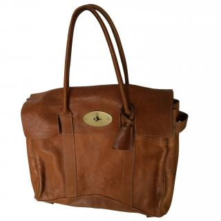 Mulberry large Tan Bayswater bag