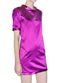 Burberry Prorsum mini silk/satin dress
