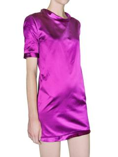 Burberry Prorsum mini silk/satin dress