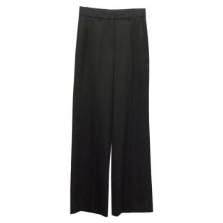 Yves Saint Laurent Black Flared Trousers