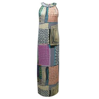 Etro Multicoloured Print Maxi Dress