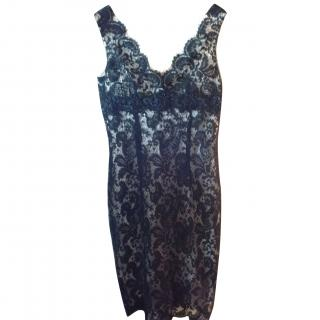Louise  Kennedy black lace dress