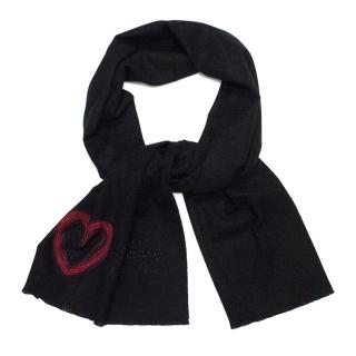 Moschino Cheap and Chic Heart Scarf