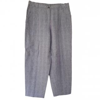 Kenzo Lightweight Grey Summer Trousers