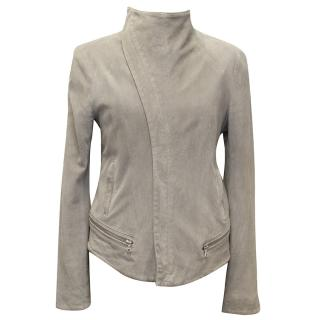 Tod Lynn Grey Suede Grey Jacket