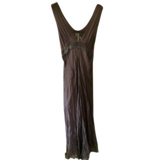 Philosophy di Alberta Ferretti- Bespoke silk and beaded gown