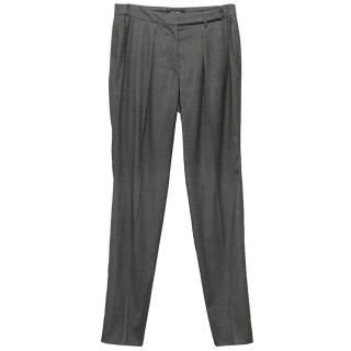 Isabel Marant Grey High Wasted Trousers