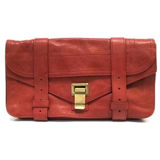 Proenza Schouler Red PS1 Leather Pochette