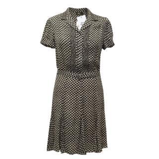 Ralph Lauren Double RL Label Floral Print Dress