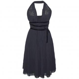 Max Mara Black Evening Dress