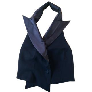 Emporio Armani silk tailored evening waistcoat