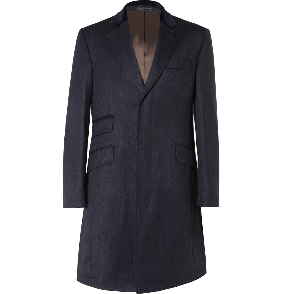 Hackett London overcoat