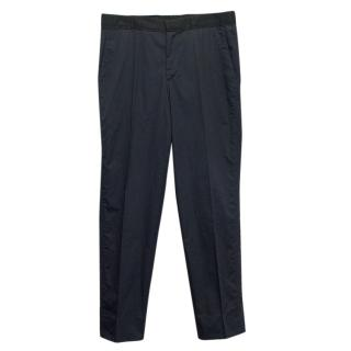 Lanvin navy trousers