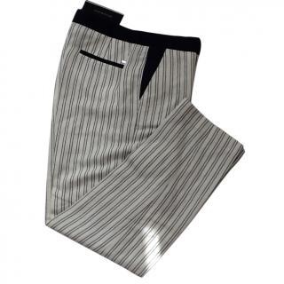 Tommy Hilfiger Linen Stripe Trousers BNWT