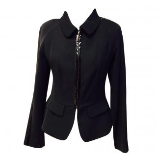 Louis Feraud black jacket